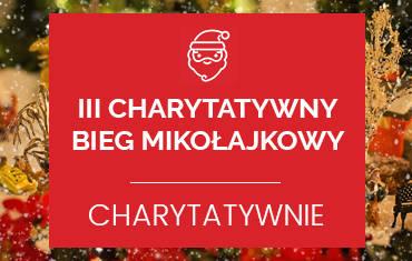 III Charytatywny Bieg Mikołajkowy