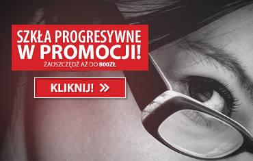 Szkła progresywne w promocji!