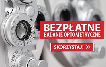Bezpłatne badanie optometryczne!