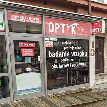 Salon przy ul. Marii Konopnickiej
