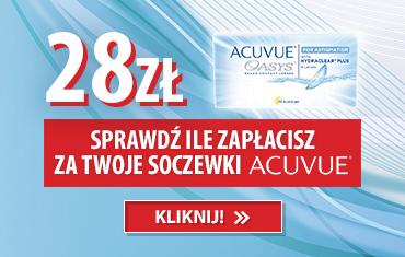Soczewki Acuvue za 28zł!