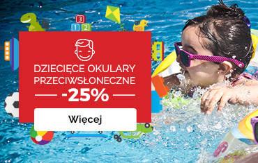 Dzień Dziecka w OPTYK maXima: -25% na okulary przeciwsłoneczne!