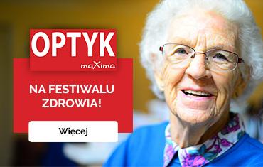 Salony OPTYK maXima na Festiwalu Zdrowia!