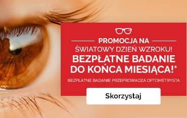Wykonaj bezpłatne badania wzroku w Salonach Optyk Maxima!
