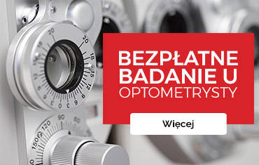 Przy zakupie okularów – Bezpłatne badanie u optometrysty