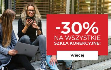 -30% na wszystkie szkła korekcyjne