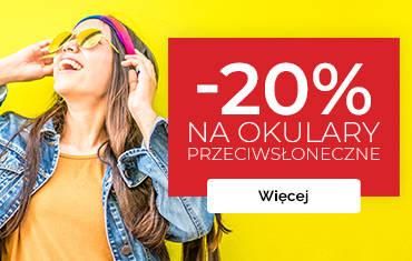 Wiosenna promocja! -20% na okulary przeciwsłoneczne!