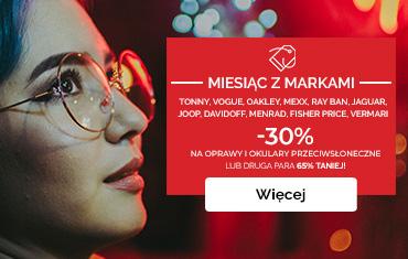 Markowe promocje w Salonach OPTYk maXima!