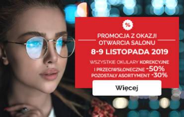 Nowe promocje z okazji otwarcia nowego Salonu Optyk Maxima!