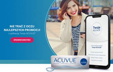 Zyskaj dzięki aplikacji Twoje ACUVUE®!